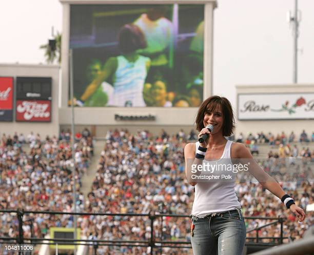 Jennifer Love Hewitt during 1027 KIIS FM's Wango Tango 2003 The Ultimate Reality Show at Rose Bowl in Pasadena CA United States