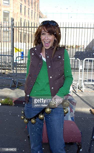 Jennifer Love Hewitt during 2004 Christmas Eve Meal for The Homeless Hosted by Jennifer Love Hewitt at LA Mission in Los Angeles California United...
