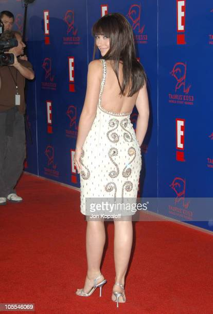 Jennifer Love Hewitt during 2005 Taurus World Stunt Awards Arrivals at Paramount Studios in Los Angeles California United States