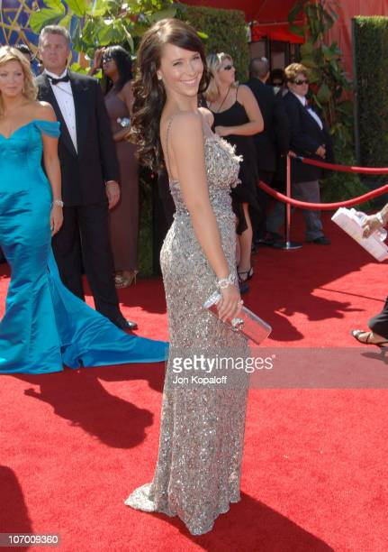 Jennifer Love Hewitt during 58th Annual Primetime Emmy Awards Arrivals at Shrine Auditorium in Los Angeles California United States