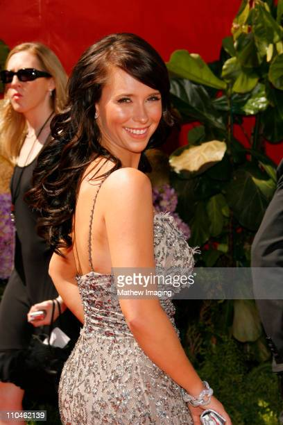 Jennifer Love Hewitt during 58th Annual Primetime Emmy Awards - Arrivals at Shrine Auditorium in Los Angeles, California, United States.