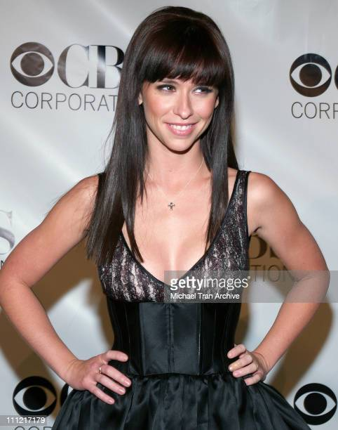 Jennifer Love Hewitt during CBS Television 2006 TCA Winter Party - Arrivals at The Wind Tunnel in Pasadena, California, United States.