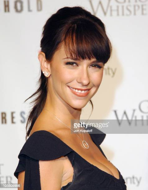 Jennifer Love Hewitt during Ghost Whisperer and Threshold Premiere Screenings at The Hollywood Forever Cementary in Hollywood California United States