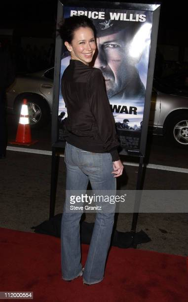 Jennifer Love Hewitt during 'Hart's War' Premiere at Mann National in Westwood California United States
