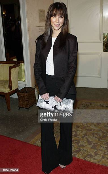 Jennifer Love Hewitt during InStyle Sneak Peek at Red Carpet Fashion for The 2004 Awards Season at Beverly Hills Hotel in Beverly Hills California...