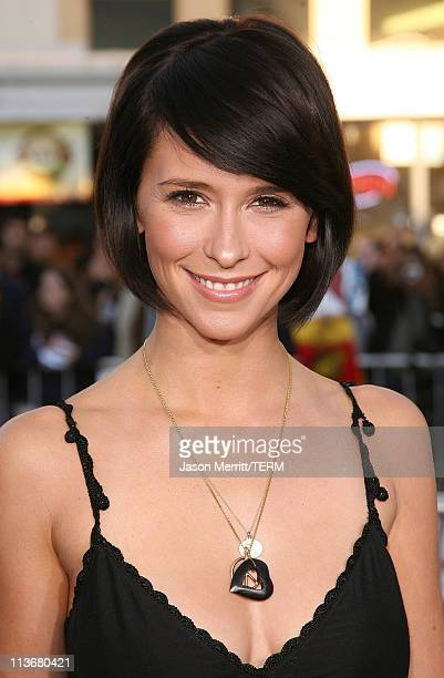 """Jennifer Love Hewitt during """"The Break Up"""" Los Angeles Premiere - Arrivals at Mann Village Theatre in Westwood, California, United States."""
