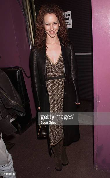 Jennifer Love Hewitt during the party for Rosie O'Donnell's first appearance in Broadway's new musical 'Seussical' at Don't Tell Mama in New York...