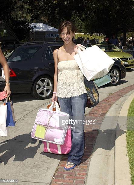 Jennifer Love Hewitt during the Silver Spoon Beauty Buffet Sponsored By Allure Day One Photo by L Cohen/WireImage for Silver Spoon