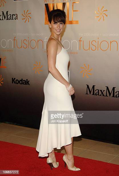 Jennifer Love Hewitt during Women in Film Presents Fusion The 2005 Crystal Lucy Awards An Evening Celebrating Partnership at The Beverly Hilton in...
