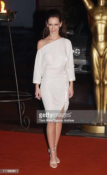 Jennifer Love Hewitt during World Music Awards 2002 Arrivals at Monte Carlo Sporting Club in MonteCarlo Monaco