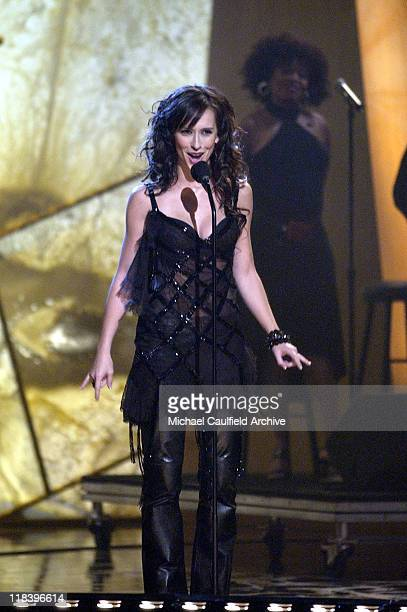 Jennifer Love Hewitt hosts 'Women Rock Girls and Guitars' airing on the Lifetime Television Network October 25th 2002 at 10 pm