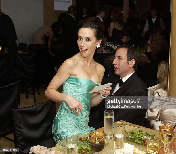 Jennifer Love Hewitt is surprised when she wins a pair of shoes in an auction