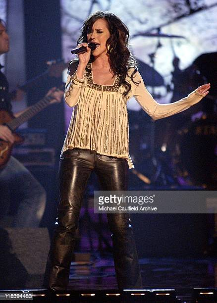 Jennifer Love Hewitt performs at 'Women Rock Girls and Guitars' airing on the Lifetime Television Network October 25th 2002 at 10 pm