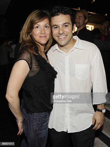 Jennifer Lynn Stone and Fred Savage at the It's Always Sunny in Philadelphia Season 4 Premiere and Season 3 DVD Launch Party hosted by FX and...