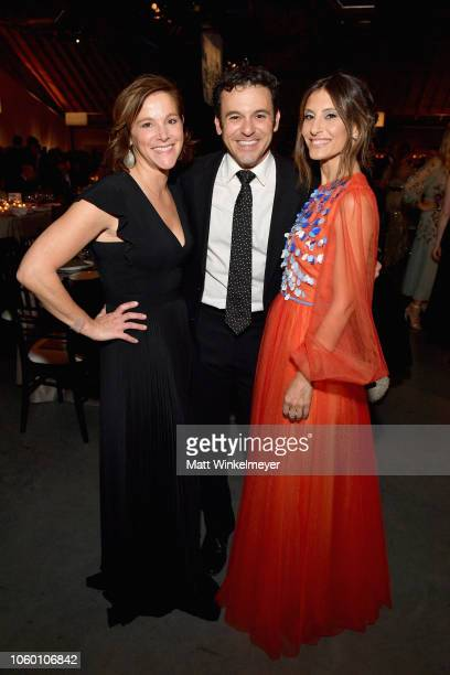 Jennifer Lynn Stone Fred Savage and Baby2Baby CoPresident Norah Weinstein attend the 2018 Baby2Baby Gala Presented by Paul Mitchell at 3LABS on...