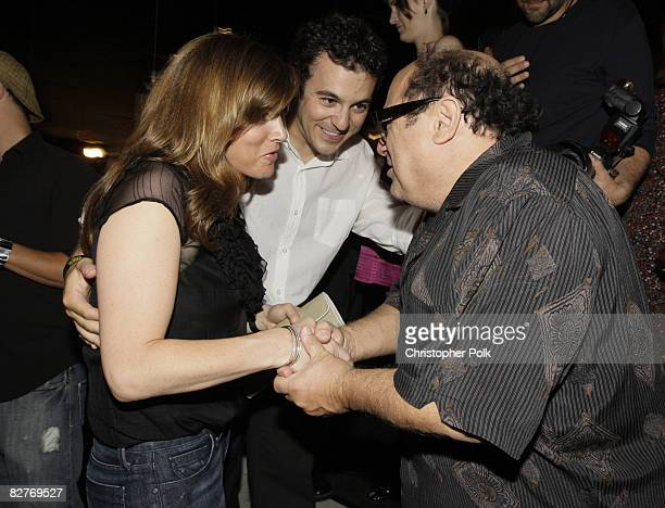 Jennifer Lynn Stone Fred Savage and Danny DeVito at the It's Always Sunny in Philadelphia Season 4 Premiere and Season 3 DVD Launch Party hosted by...