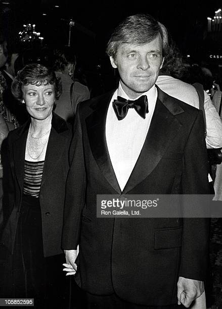 Jennifer Lynton and Anthony Hopkins during 36th Annual Golden Globe Awards at Beverly Hilton Hotel in Beverly Hills California United States