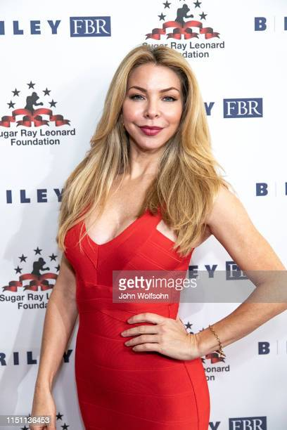 Jennifer Lyons attends Sugar Ray Leonard Foundation's 10th Annual 'Big Fighters Big Cause' Charity Boxing Night at The Beverly Hilton Hotel on May 22...