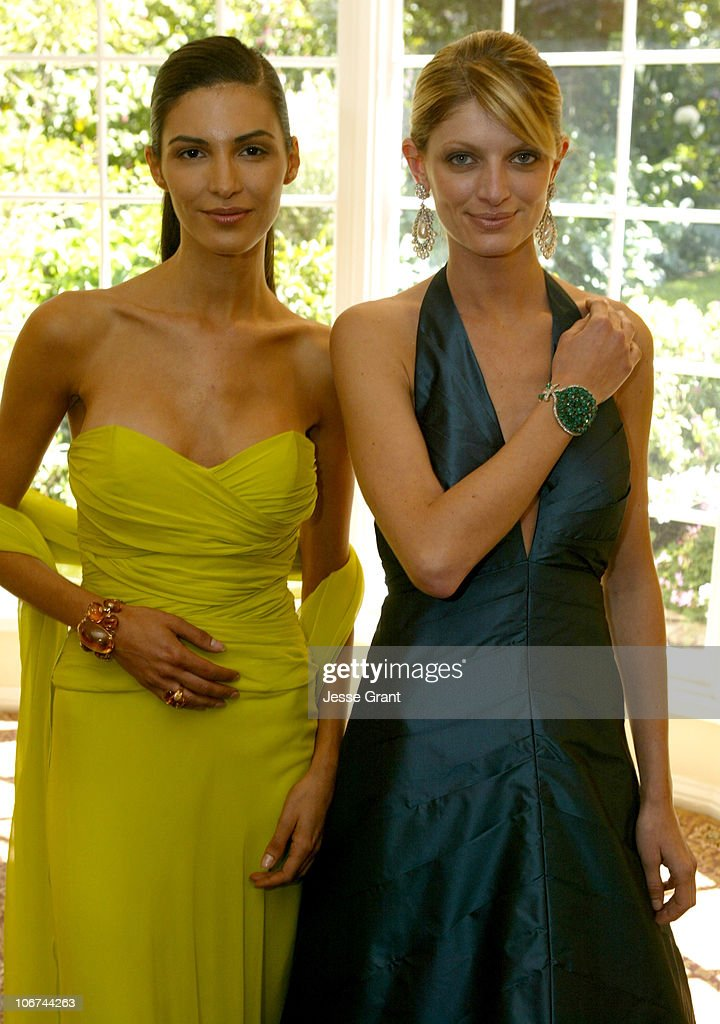 Jennifer Machado and Barbara Guillaume model Jewelry from the Doris Duke Collection of Magnificent Jewels