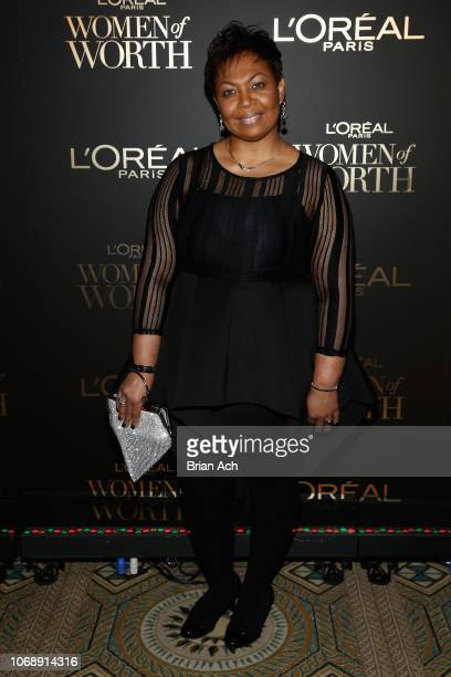 Jennifer Maddox attends the L'Oréal Paris Women of Worth Celebration at The Pierre Hotel on December 5 2018 in New York City
