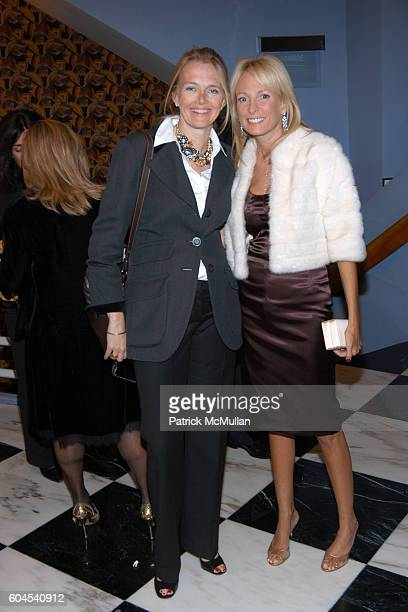 Jennifer Maguire and Pamela Gross attend Avenue Magazine Celebrates A List 2006 with Screening of A Good Year at The Paris Theatre Le Cirque on...