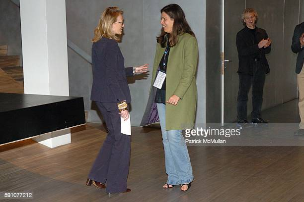 Jennifer Maguire and Simone Duarte attend FONDAZIONE PRADA Hosts a Screening of En Route To Baghdad for The Tribeca Film Festival at PRADA on April...