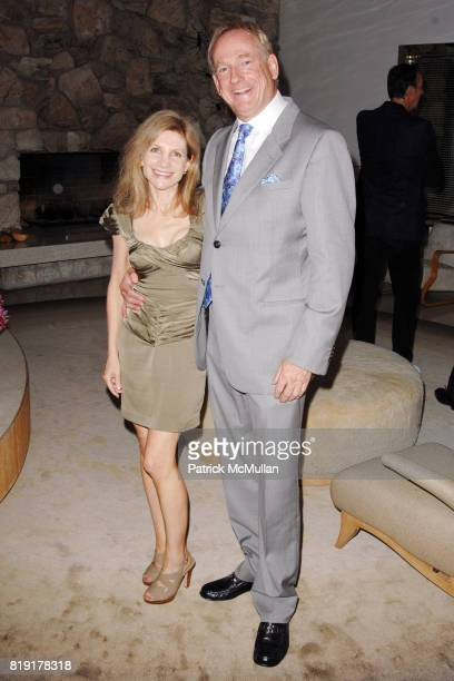 Jennifer Maguire and Stephen Maguire attend The First Annual Benefit Hosted By Los Angeles Nomadic Division at Private Residence on July 14 2010 in...