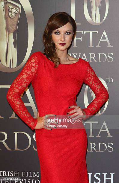 Jennifer Maguire attends the Irish Film and Television Awards at the Convention Centre Dublin on February 9 2013 in Dublin Ireland