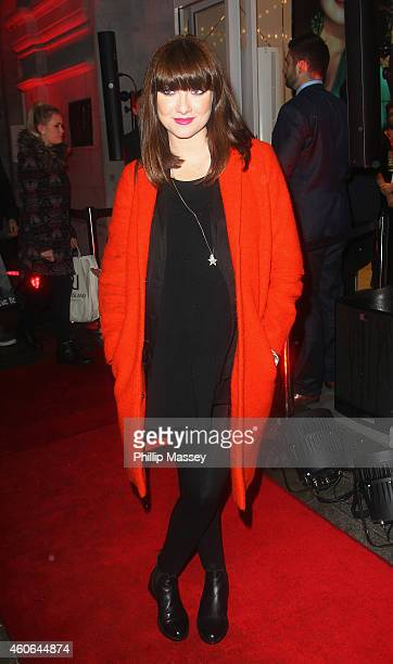 Jennifer Maguire attends the opening of the irish flagship HM store on December 18 2014 in Dublin Ireland