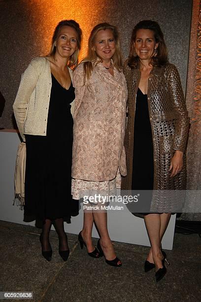 Jennifer Maguire Isham Laura Bickford and Clara Bingham attend VANITY FAIR Tribeca Film Festival Party hosted by Graydon Carter and Robert DeNiro at...
