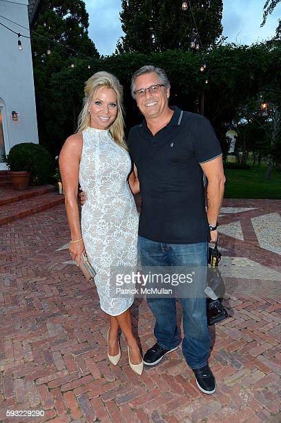 Jennifer Mazur and Kevin Mazur attends the Apollo in the Hamptons 2016 party at The Creeks on August 20 2016 in East Hampton New York