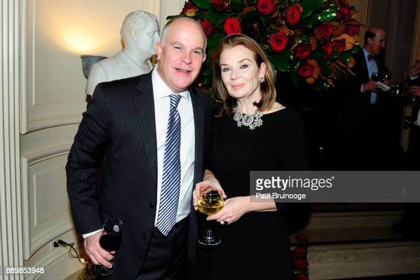 Jennifer McGee attends the Hackensack University Medical Center Foundation Holiday Party Hosted by Jon Fitzgerald Diane Reynolds at The Lotos Club on...