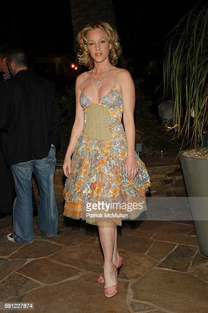Jennifer McShane attends Paper Magazine and Jaguar 2005 to celebrate the 8th Annual Beautiful People Issue at Roosevelt Hotel on April 15 2005 in...