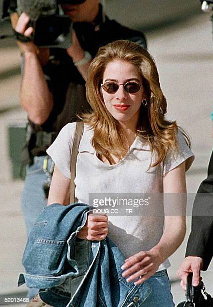 Jennifer McVeigh arrives at the Byron G Rogers Federal Building and United States Court House in downtown Denver Colorado 10 June for the third day...