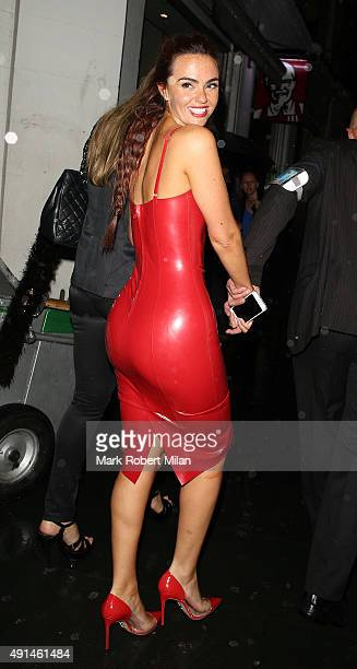 Jennifer Metcalfe at the Inside Soap awards on October 5 2015 in London England