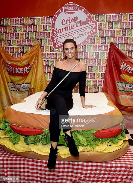 Jennifer Metcalfe attends as Walkers launch the first ever Crisp Sarnie Club to celebrate the launch of their sandwich flavoured crisps on September...
