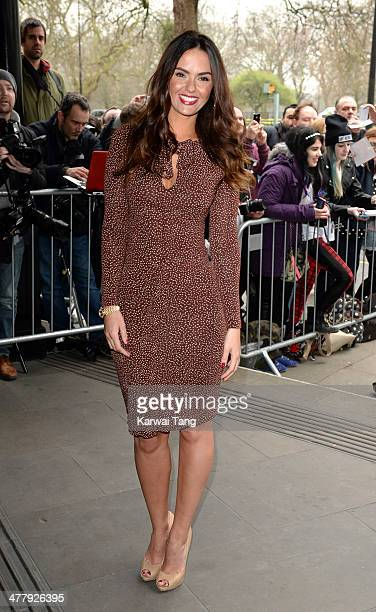 Jennifer Metcalfe attends the 2014 TRIC Awards at The Grosvenor House Hotel on March 11, 2014 in London, England.