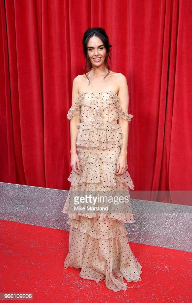 Jennifer Metcalfe attends the British Soap Awards 2018 at Hackney Empire on June 2 2018 in London England