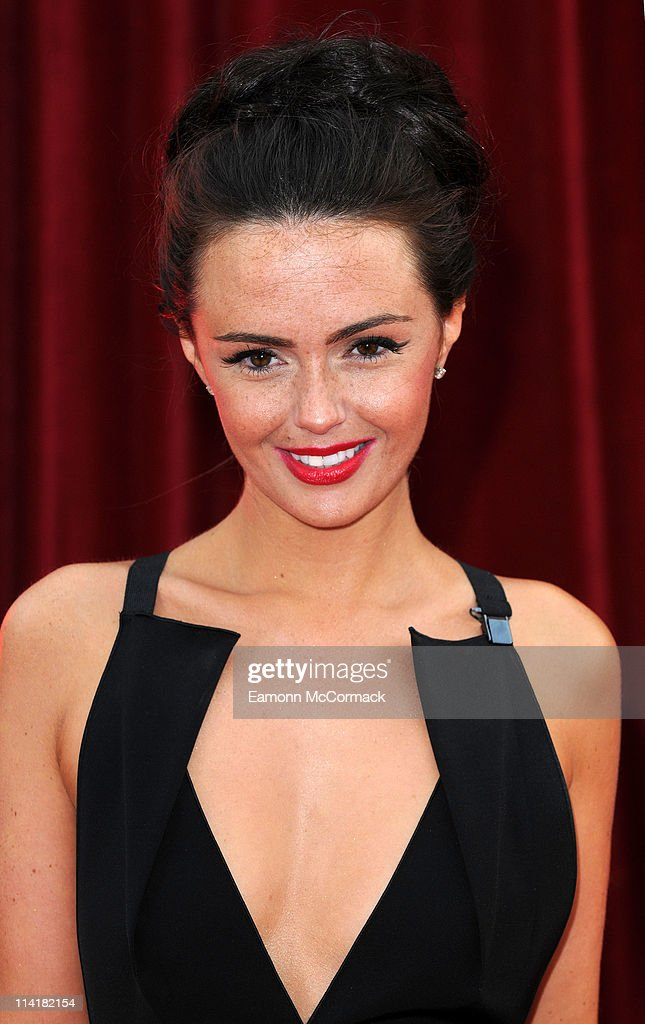 Jennifer Metcalfe attends 'The British Soap Awards' at Granada Television Studios on May 14, 2011 in Manchester, England.