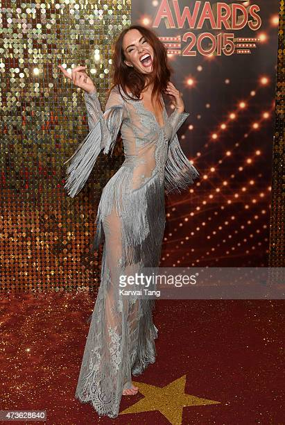 Jennifer Metcalfe attends the British Soap Awards at Manchester Palace Theatre on May 16 2015 in Manchester England