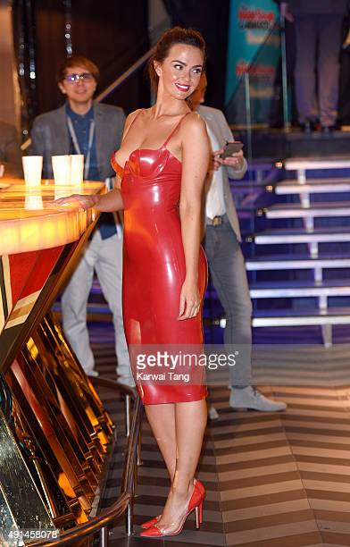 Jennifer Metcalfe attends the Inside Soap Awards at DSKTRT on October 5 2015 in London England
