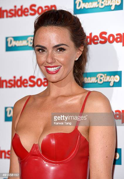 Jennifer Metcalfe attends the Inside Soap Awards at DSKTRT on October 5 2015 in London England