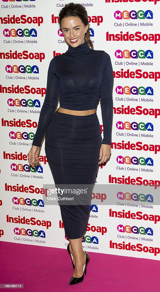 Jennifer Metcalfe attends the Inside Soap Awards at Ministry Of Sound on October 21, 2013 in London, England.