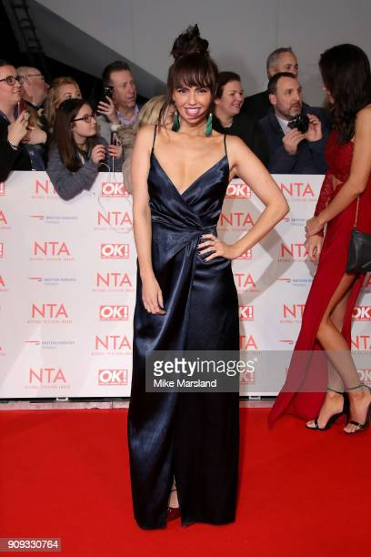 Jennifer Metcalfe attends the National Television Awards 2018 at The O2 Arena on January 23 2018 in London England