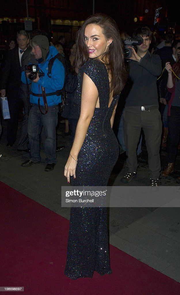 Jennifer Metcalfe attends the RTS North West Awards held at the Hilton Hotel in Deansgate on November 17, 2012 in Manchester, England.
