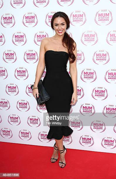 Jennifer Metcalfe attends the Tesco Mum of the Year Awards at The Savoy Hotel on March 1 2015 in London England
