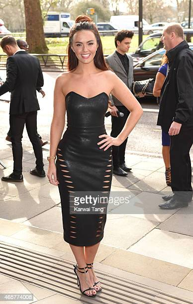 Jennifer Metcalfe attends the TRIC Awards at Grosvenor House Hotel on March 10 2015 in London England