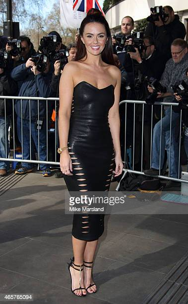 Jennifer Metcalfe attends the TRIC Awards on March 10 2015 in London England