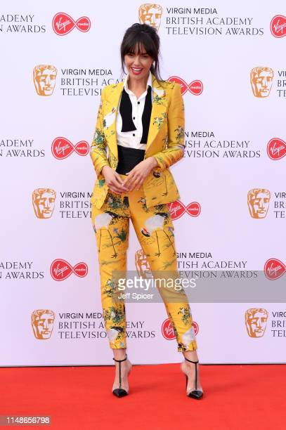 Jennifer Metcalfe attends the Virgin Media British Academy Television Awards 2019 at The Royal Festival Hall on May 12 2019 in London England