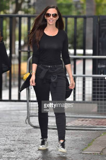 Jennifer Metcalfe seen at the ITV Studios on August 17 2017 in London England